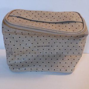 Kate Spade Out to Lunch Makeup Bag